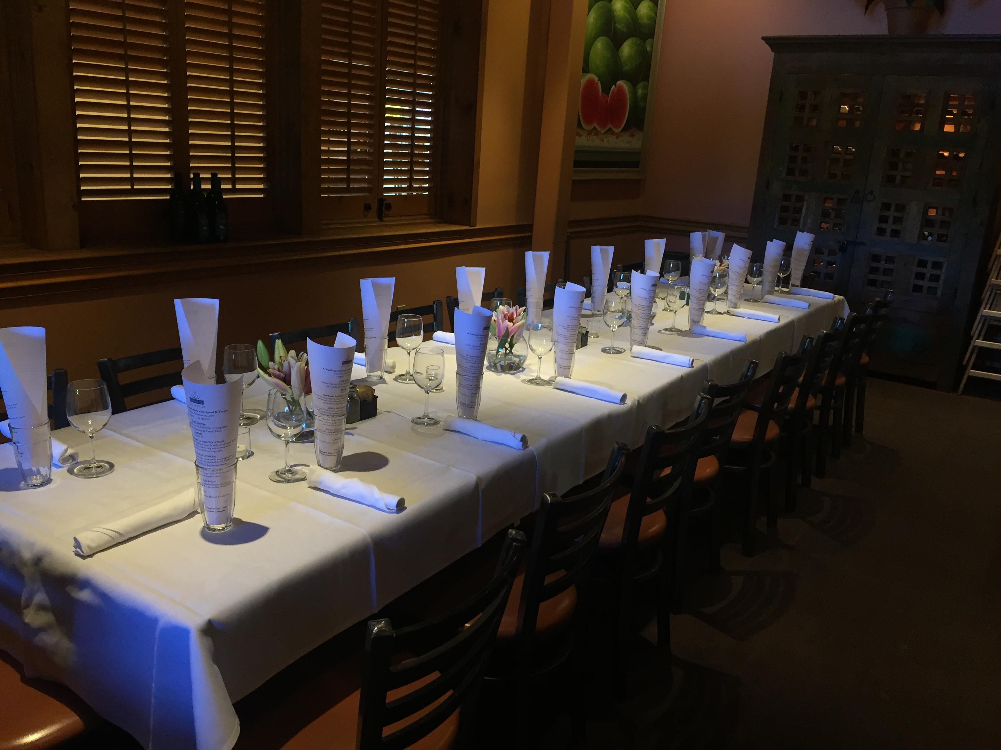 Private Dining. Santa Fe ...